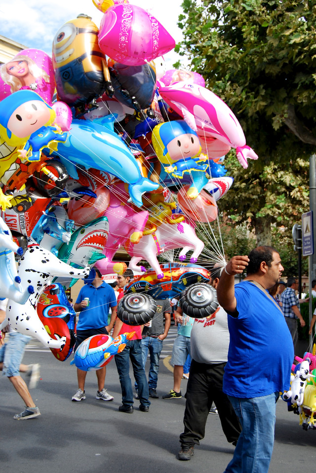 Festival Balloon Vendor