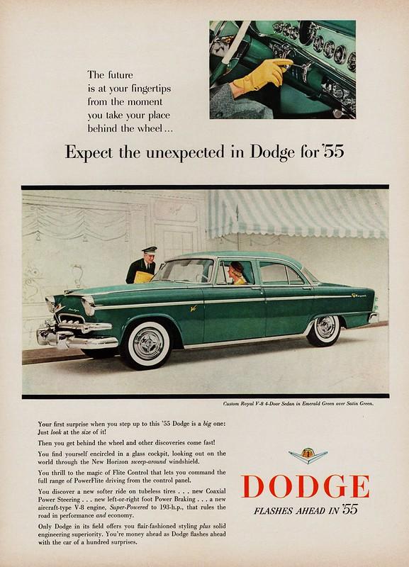 1955 Dodge Custom Royal V-8 4-Door Sedan