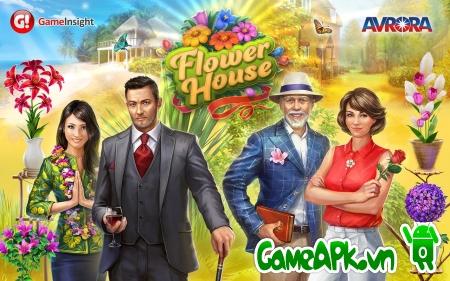 Flower House v1.3.1 hack full tiền cho Android