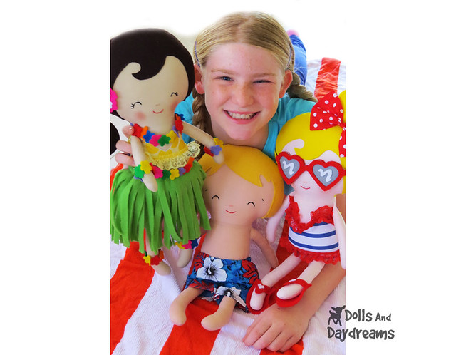 Summer Sewing Dolls