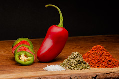 plant(0.0), paprika(1.0), cayenne pepper(1.0), chili pepper(1.0), vegetable(1.0), peppers(1.0), red(1.0), bell peppers and chili peppers(1.0), produce(1.0), fruit(1.0), food(1.0),