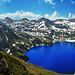 Lac bleu - Bigorre - Pyrénées by Démocrite, atomiste dérouté