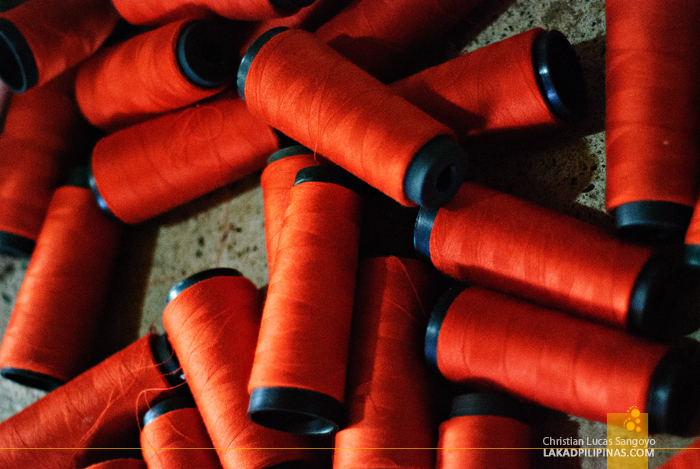 Spools for Abel Weaving in Ilocos
