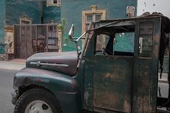 Green truck Miraflores Lima
