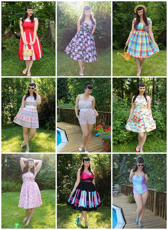 retro dresses