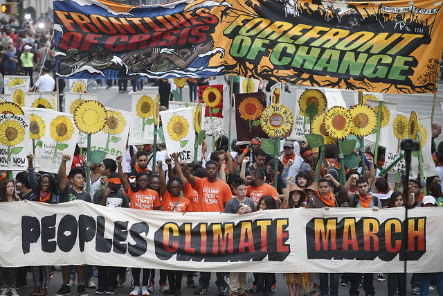 Photo of NYC People's Climate March