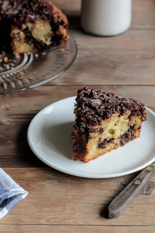 Espresso Chocolate Coffee Cake