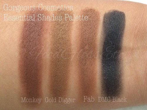 Gorgeous Cosmetics Essential Shades Palette #gcessentialshadespette