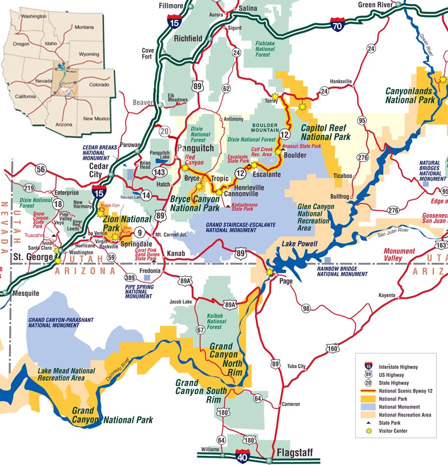 Mapa de la Ruta 12 por Utah en Estados Unidos carretera escénica 12 de utah, all-american roadtrip - 15377377755 ba737f9f5c o - carretera escénica 12 de utah, all-american roadtrip