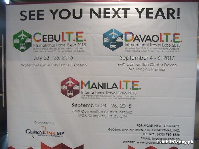 See you next year at Manila International Travel Expo Tarpaulin
