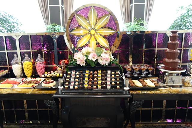The Dessert Spread at Brasserie Les Saveurs, St. Regis Singapore