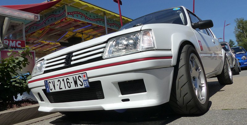 Peugeot 205 Rallye TCT Citroen Xantia 230 Chx - Linas (91) 27 Juin 2015 18612299883_68f424862c_c