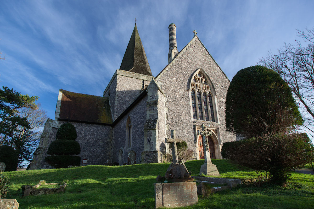 St Andrew, Alfriston, Sussex