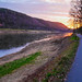 Small photo of Abend am Fluss
