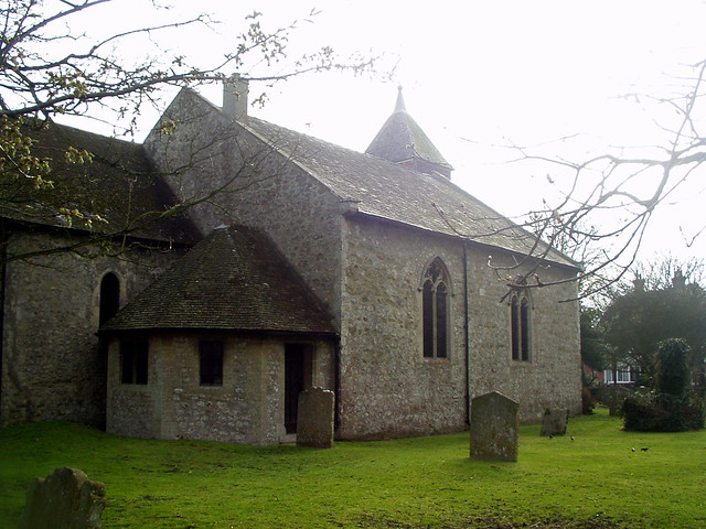 The church at Capel-le-Ferne