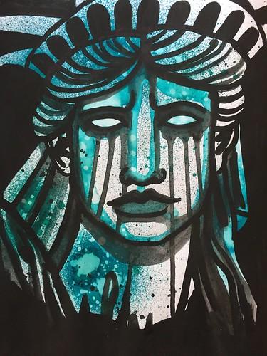 9 Lady Liberty Weeps