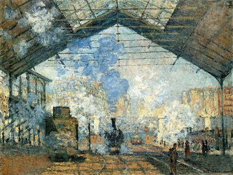 La Gare Saint Lazare Uti 465