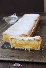 Lemon Pastry Cream Tart