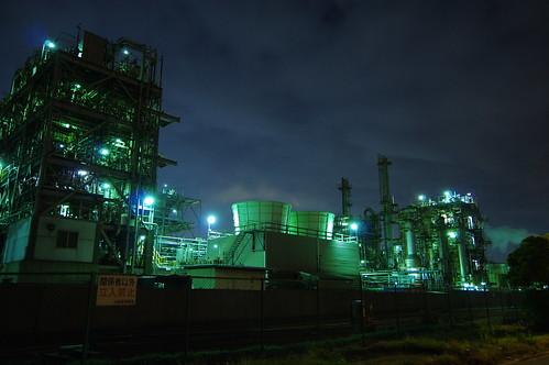 Nightscape at Kawasaki Industrial Zone 16
