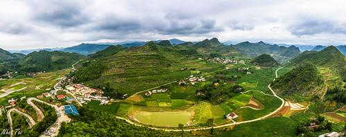 travel panorama canon landscape tokina vietnam hàgiang tokina1116 canon600d lũngcú canonkissx5 highforeheadofthemotherland