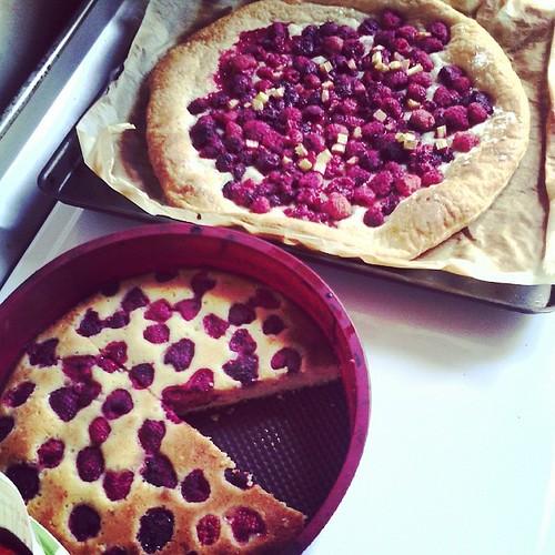 Qui veut une part? Gâteau ou tarte?