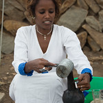 Ethiopian Coffee Ceremony in Aksum, Ethiopia