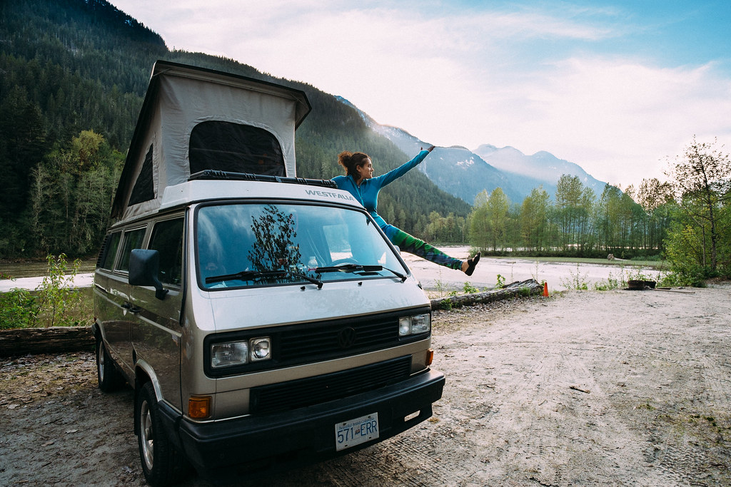 First home of the trip: Squamish River