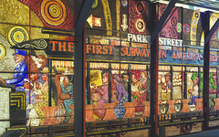Park Street Mural (MBTA)