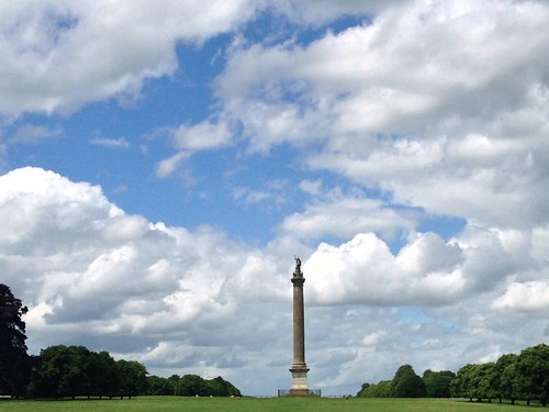 Victory Monument from Blenheim