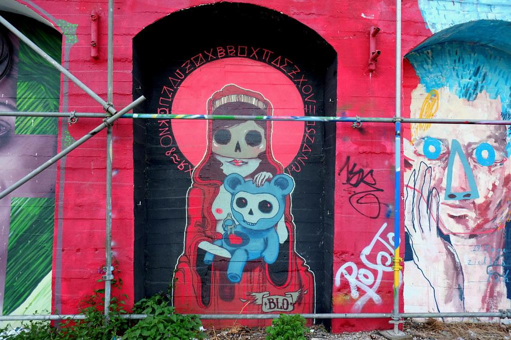 streetart | blo | berlin . raw tempel . urban spree