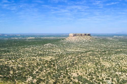 Paysage de terrasses de l'Ugab, Namibie