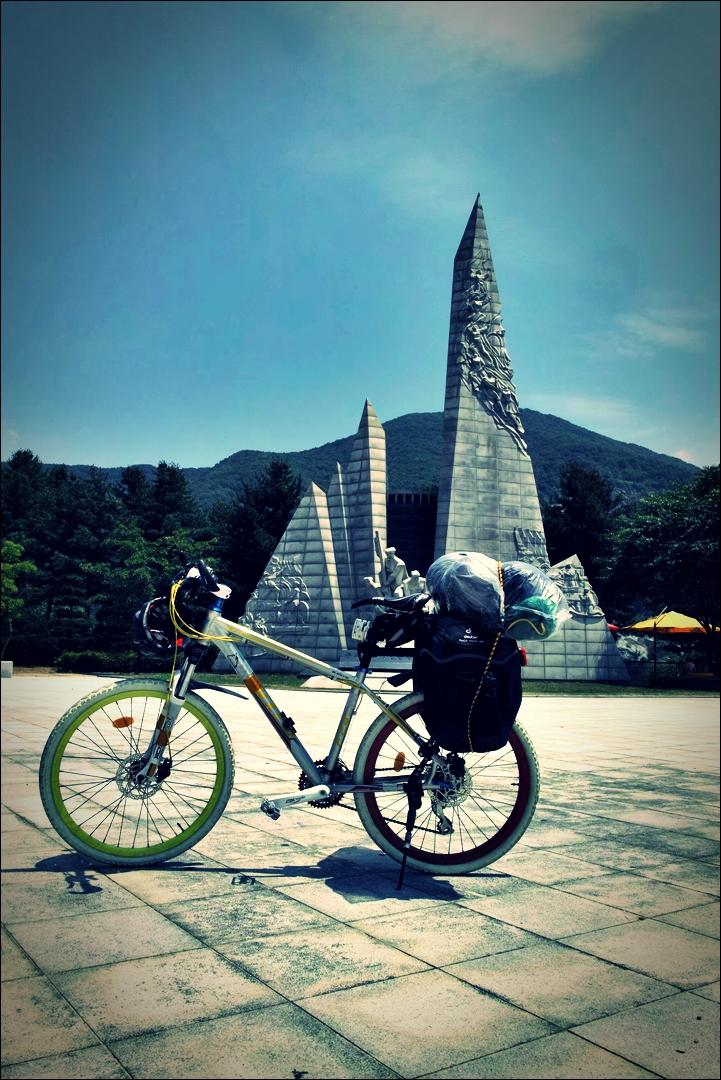 충주댐-'남한강 자전거 종주 Bike Riding Namhan river Korea'