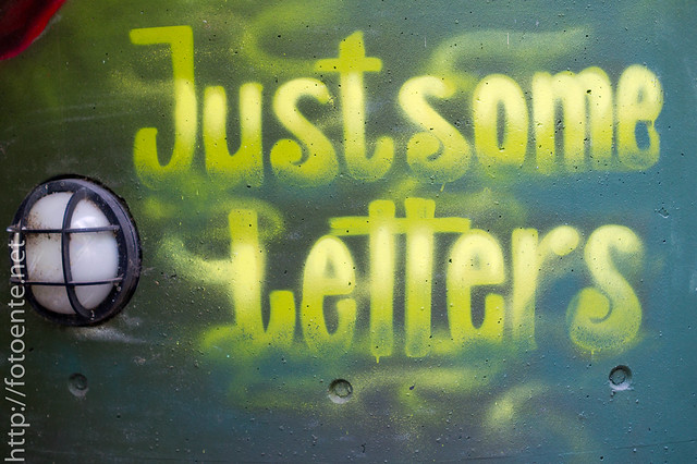 Just some letters