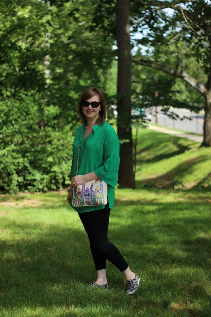 MK green tunic 4