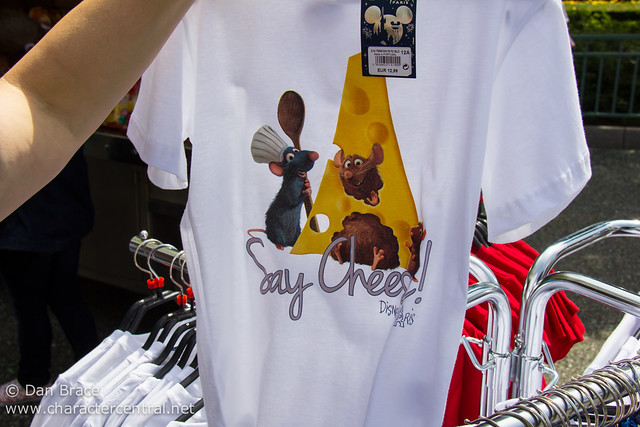New Ratatouille merchandise