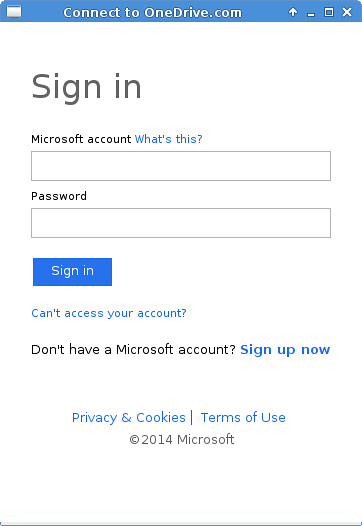 Connect to OneDrive.com