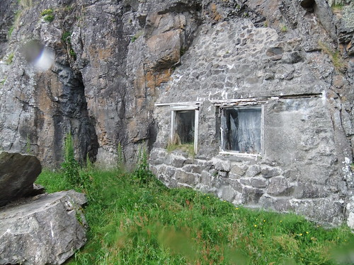 Cave House on Insh Island