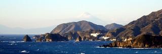 Murosaki Cape in Matsuzaki Town, Shizuoka, Japan