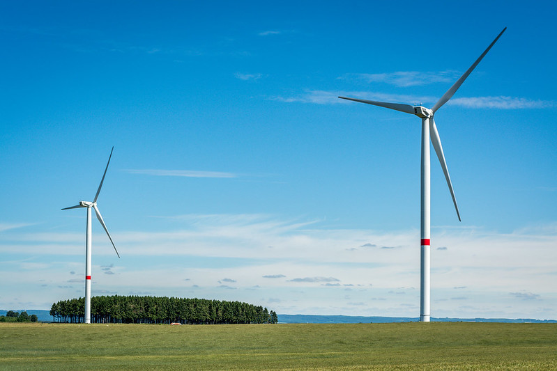 Windmills in Belgium