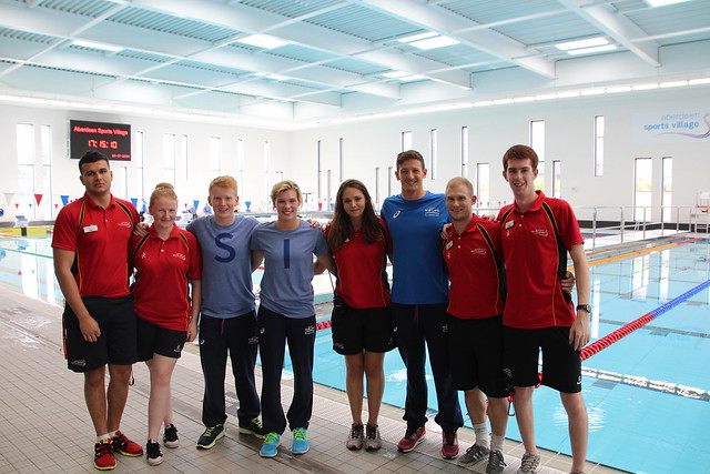Team Scotland Aquatics Training Camp-Aberdeen (July 2014)