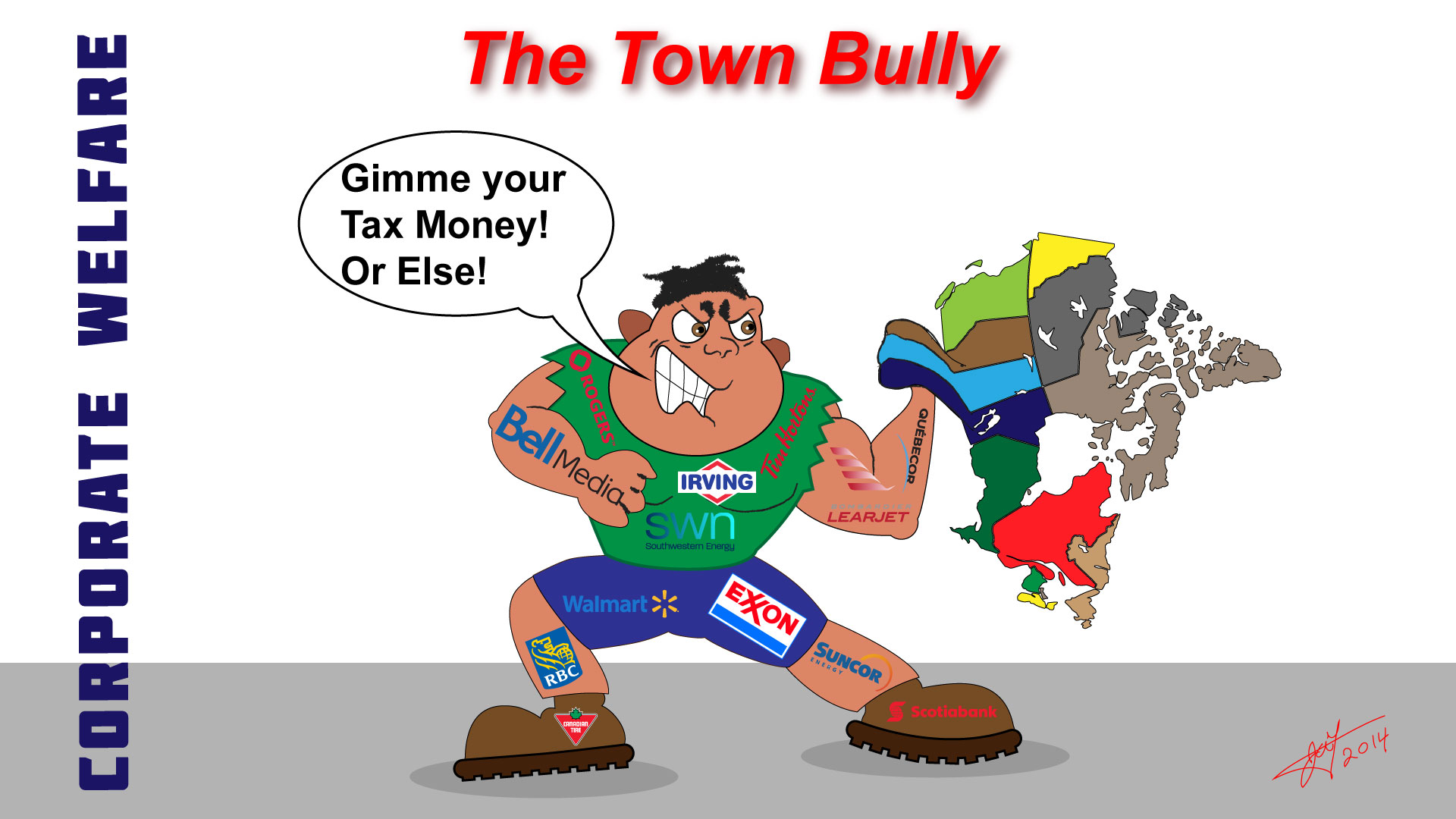 The town Bully