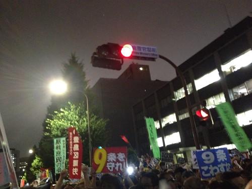 20140630 総理官邸前抗議デモ02