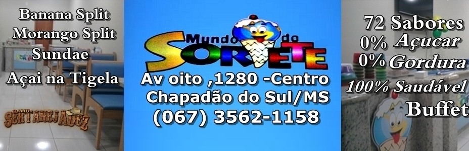 Mundo do Sorvete