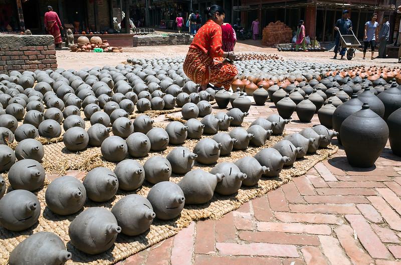 Séchage de poteries