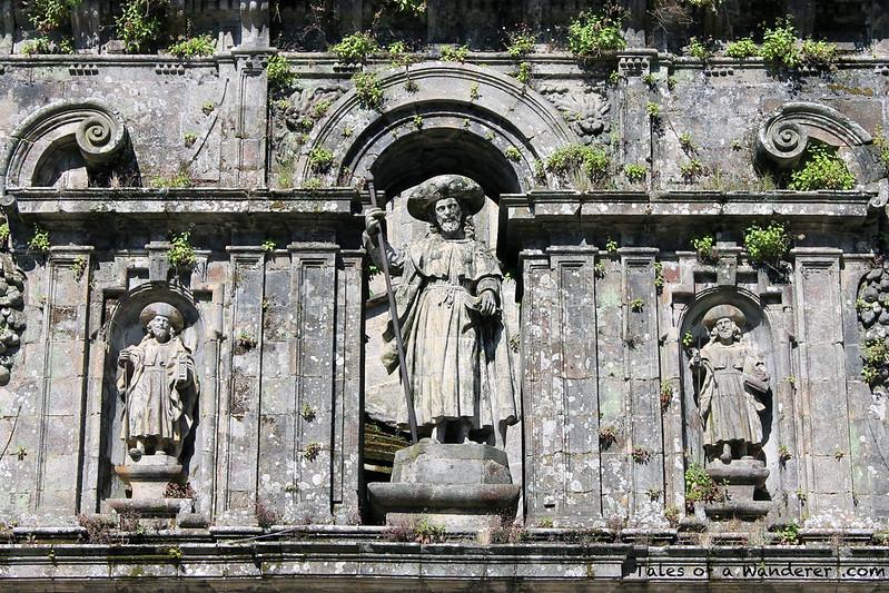 SANTIAGO DE COMPOSTELA - Praza da Quintana - Catedral de Santiago de Compostela