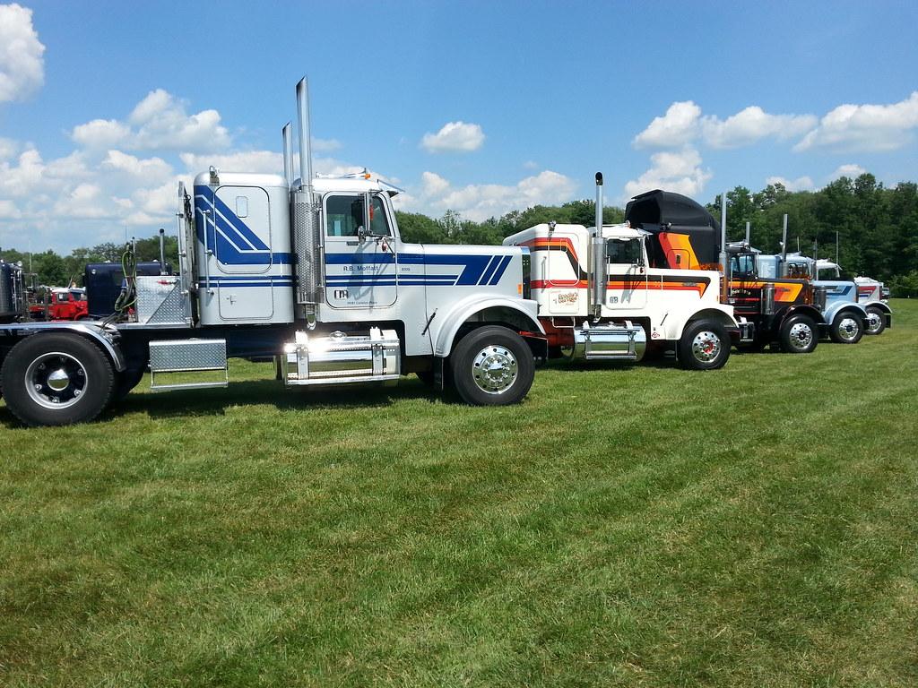 Clifford Antique Classic Truck Show