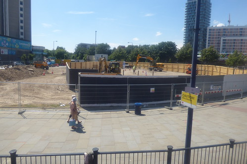 Lewisham Gateway progress 4 July 2014
