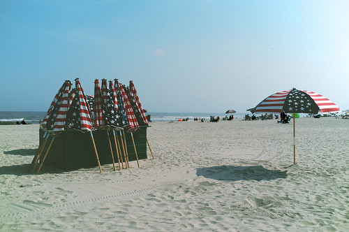 Ocean City, New Jersey beach.