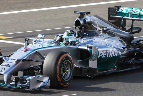 #6 Nico Rosberg Mercedes W05 Hybrid-7271cs