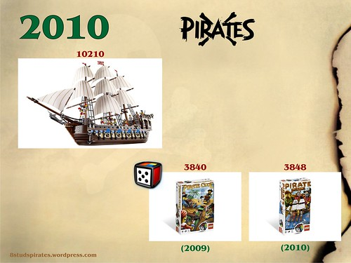 LEGO Pirates Timeline 2010